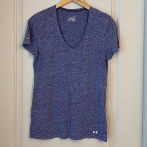 Under Armour V-neck Workout Tee